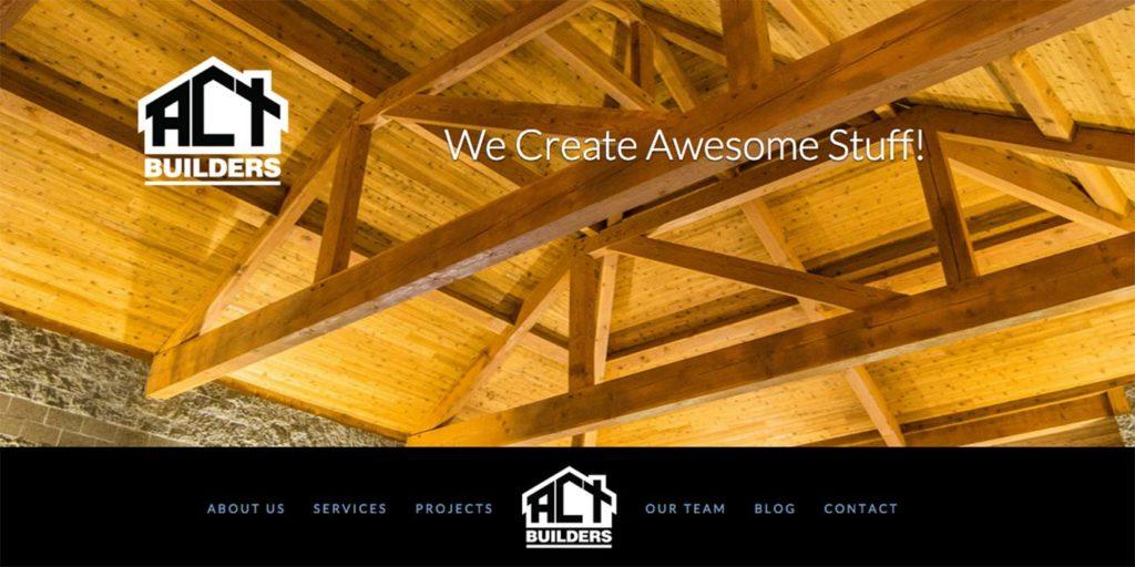ACT Builders Homepage