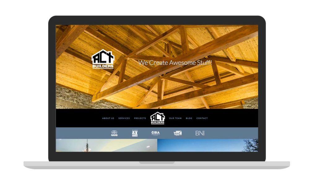 ACT website homepage