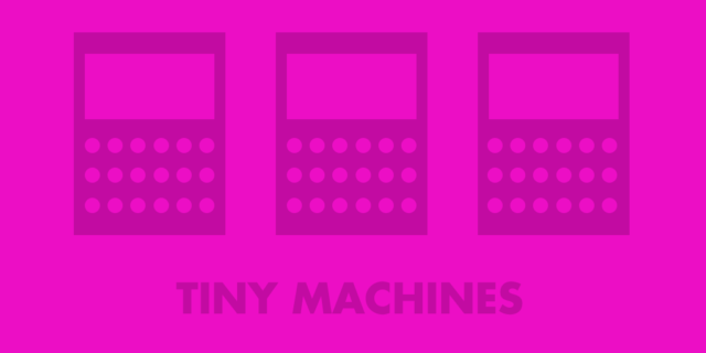 Tiny Machines Illustration